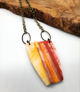 Vernazza Abstract Necklace No. 1