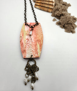 Monterey Abstract Necklace No. 2