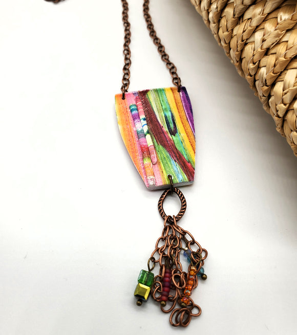 Rio Abstract Necklace