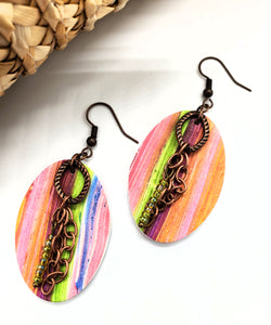Rio Oval Earrings