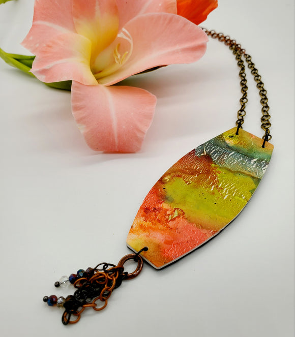 Santa Maria Abstract Necklace No. 1