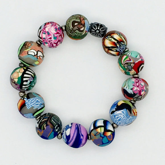 Mixed Cane Bracelet No. 8