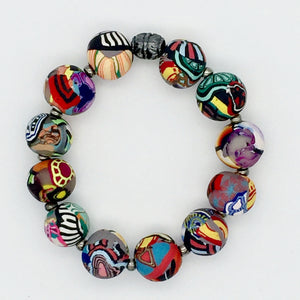 Mixed Cane Bracelet No. 6