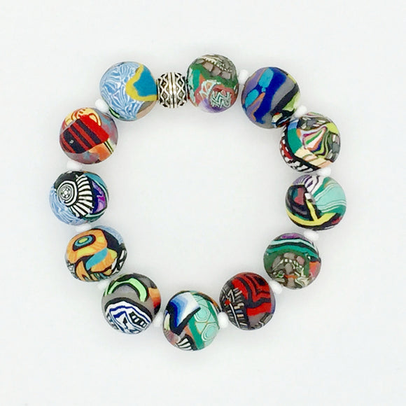 Mixed Cane Bracelet No. 1