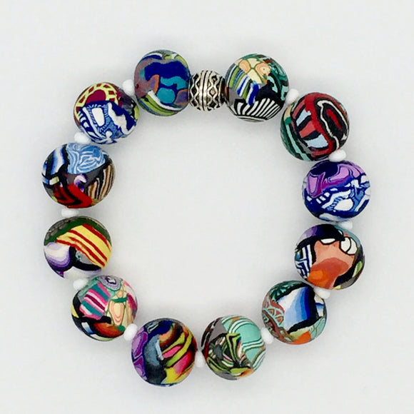 Mixed Cane Bracelet No. 2