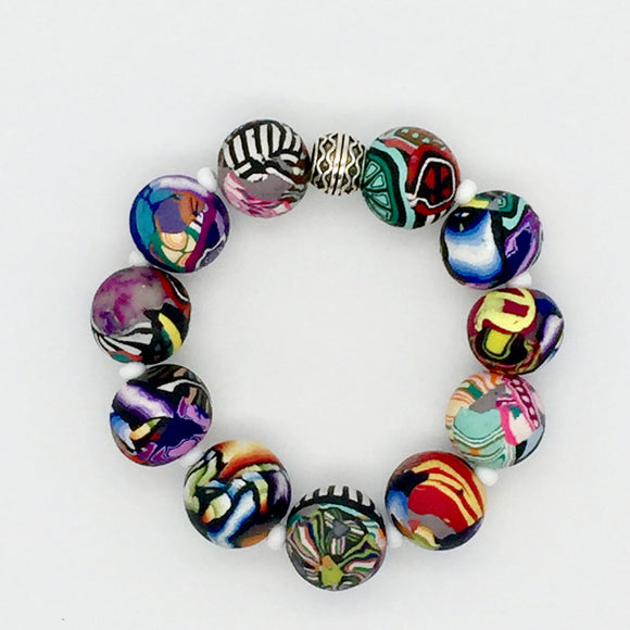 Mixed Cane Bracelet No. 5