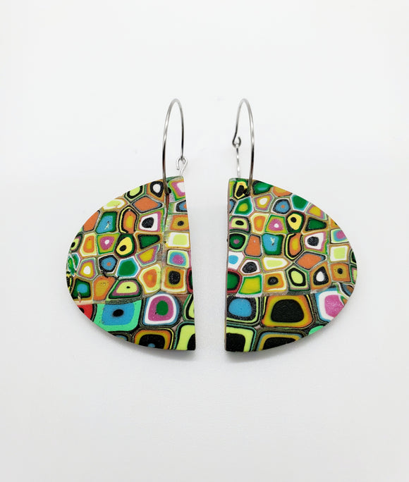 Klimt Abstract Earrings