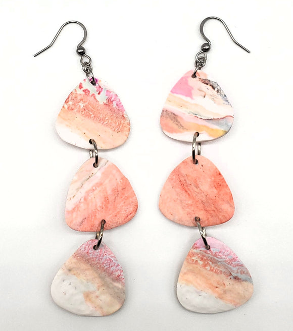 Textured Dangles No. 3 (faux stone)