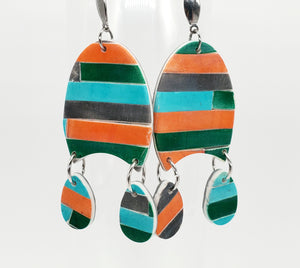 Color Tribe Canyon Rain Dangles