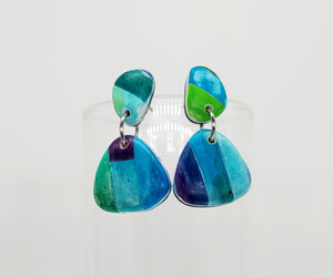 Color Tribe Aqua Petite Dangles