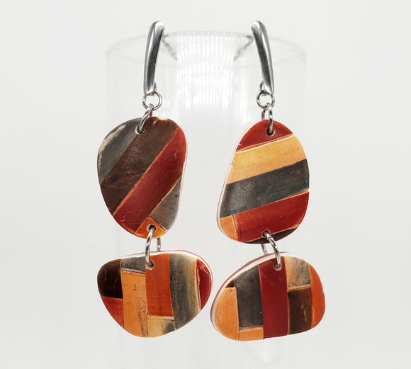 Color Tribe Mesa Abstract Dangles
