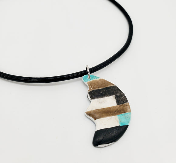 Color Tribe Desert Moon Necklace