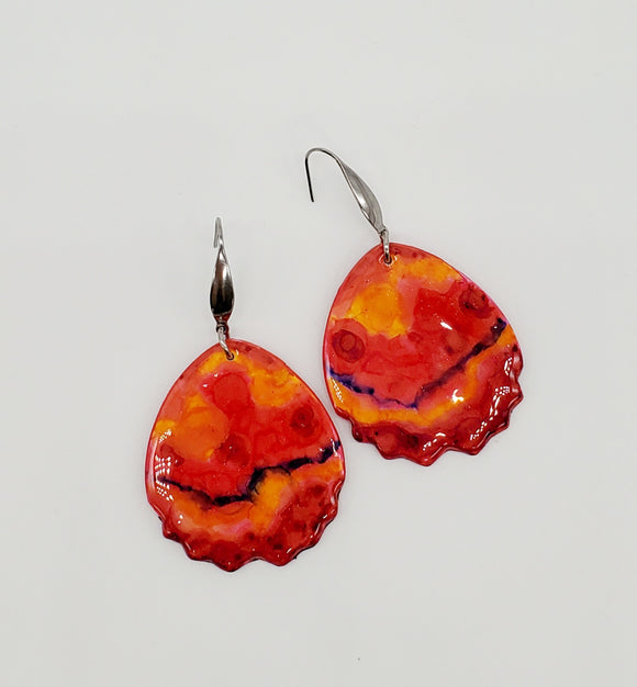 NEW! Fire & Ice Earrings