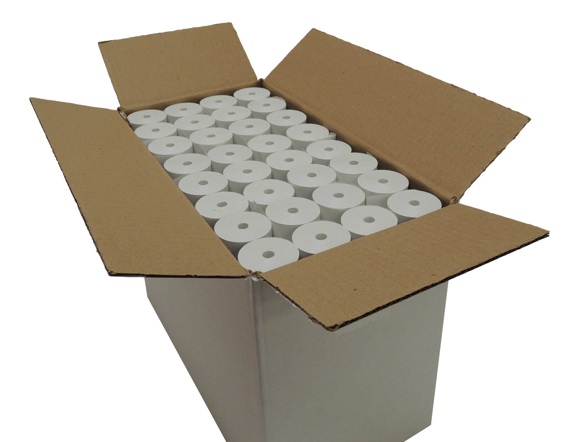 POS1 Thermal Paper 3-1/8 x 75 ft 38mm diameter CORELESS BPA Free 96 rolls