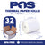 POS1 Thermal Paper 2 x 110 ft for Zebra iMZ220 47mm diameter CORELESS BPA Free 32 rolls