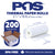POS1 Thermal Paper 2 1/4 x 16 ft for Poynt Smart Terminal Receipt Printer 18mm diameter CORELESS BPA Free 200 rolls