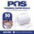 POS1 Thermal Paper 2 1/4 x 75 ft 38mm diameter CORELESS BPA Free 50 rolls
