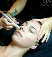 Celebrity Esthetician Mindi Walters Diamond Peel Facial Treatment