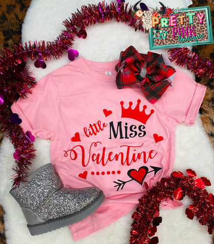 Little Miss Valentine Tee