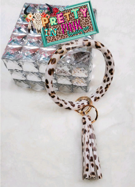 Leopard Bangle Key Chain