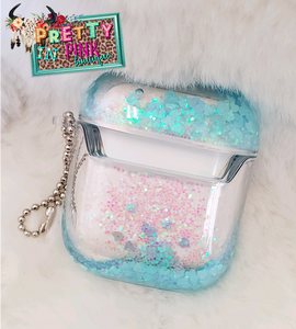 Liquid Sparkle Airpods Case