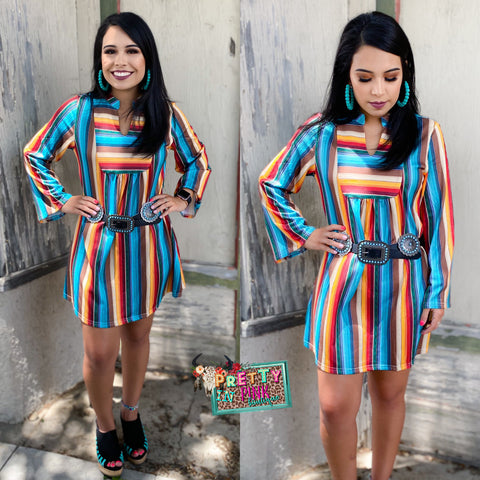 Cathalina Serape Dress