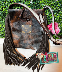 The Mason Cowhide Purse
