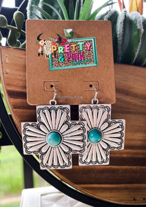 Maya Concho Earrings
