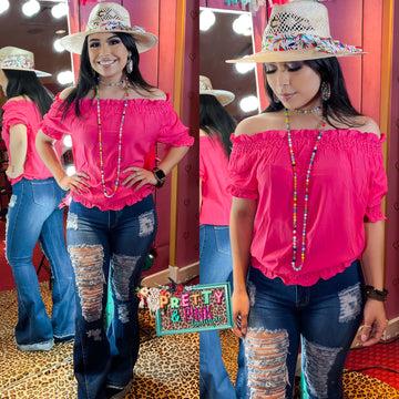 Color Crush Top - Pink