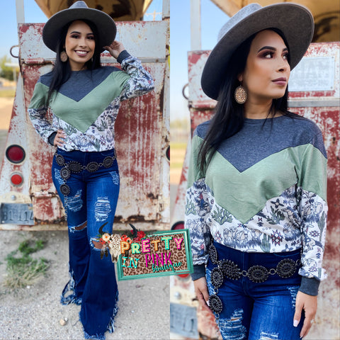 All Hat & No Cattle Top