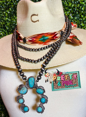 Turquoise Stacked Necklace