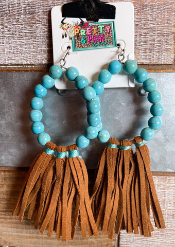 Navajo Tassle Earrings