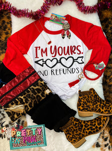 Im Yours Raglan Top