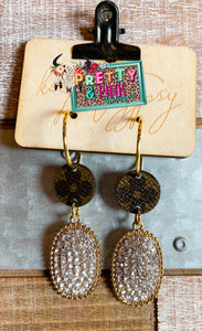 Keep It Gypsy Gold Earrings