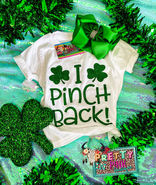 I Pinch Back Girls Tee