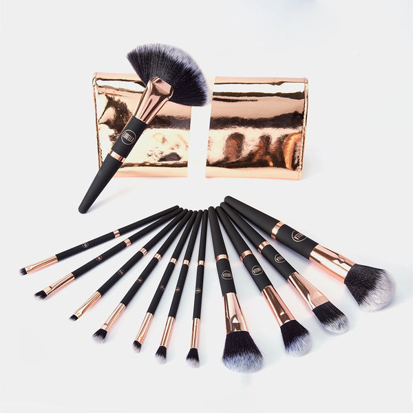 Lurella 12 piece Makeup Brushes