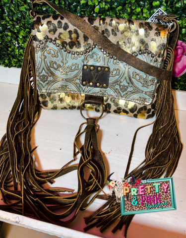 The Country Leopard Purse