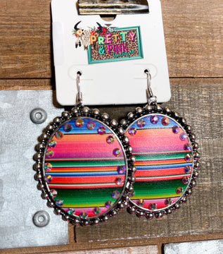 Perfect Match Oval Earrings