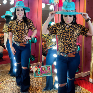 Angel Basic Top (Leopard)