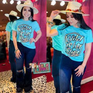 Wild Is Her Style Tee