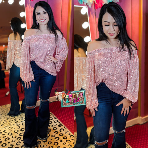 Sweet Pink Valentine Top