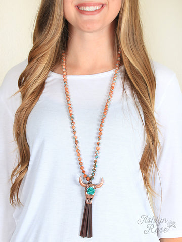 Sunset Bullhead Necklace