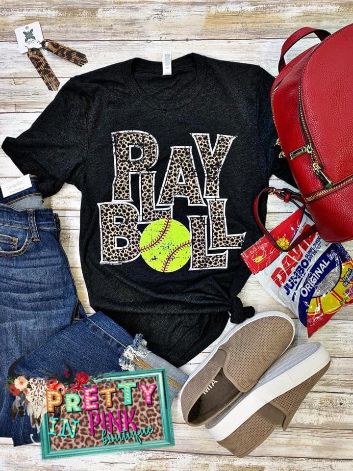 Play Ball Softball Tee