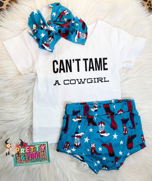 Cant Tame a Cowgirl Set
