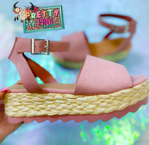 Making Me Blush Sandals