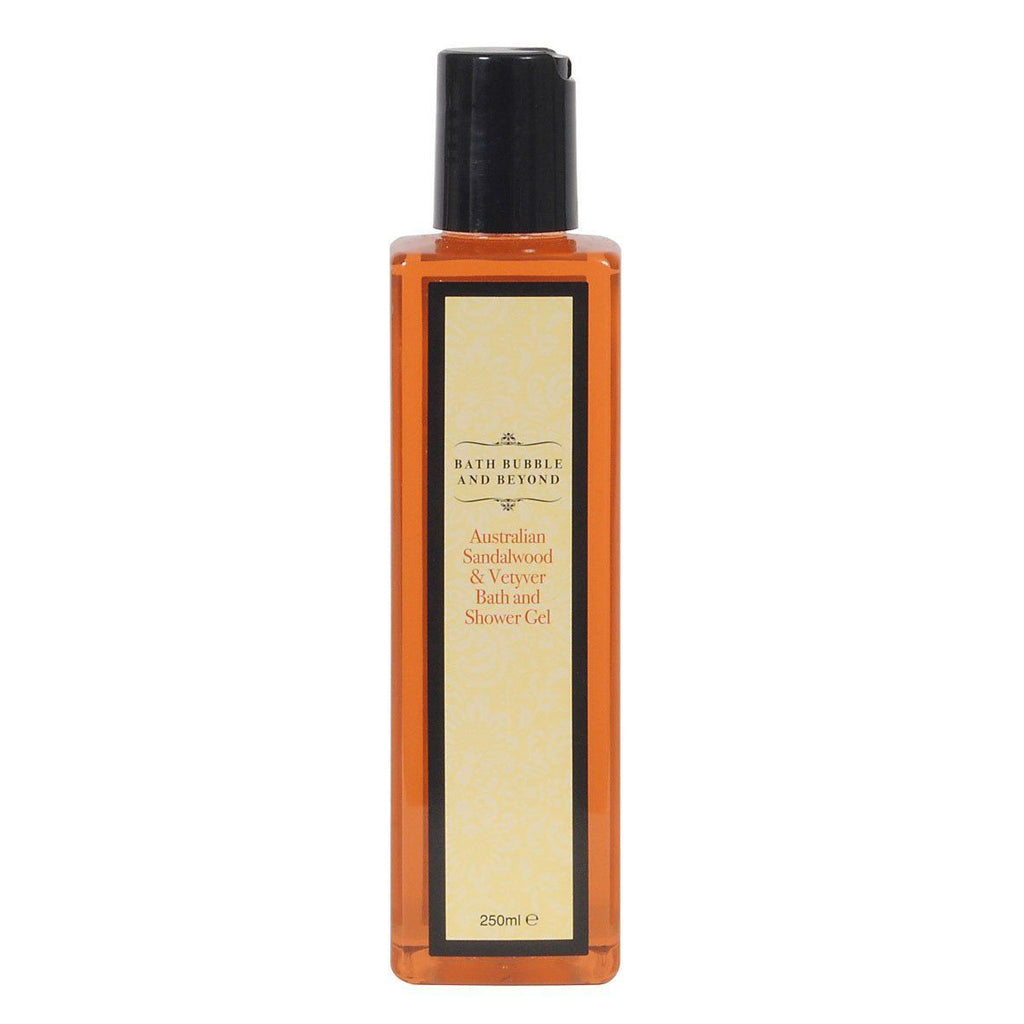 Australian Sandalwood & Vetyver Luxury Bubble Bath & Shower Gel-Perfect Pamper Gifts