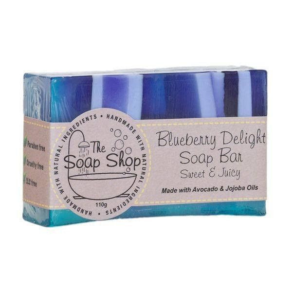 Blueberry Delight Handmade Soap-Perfect Pamper Gifts