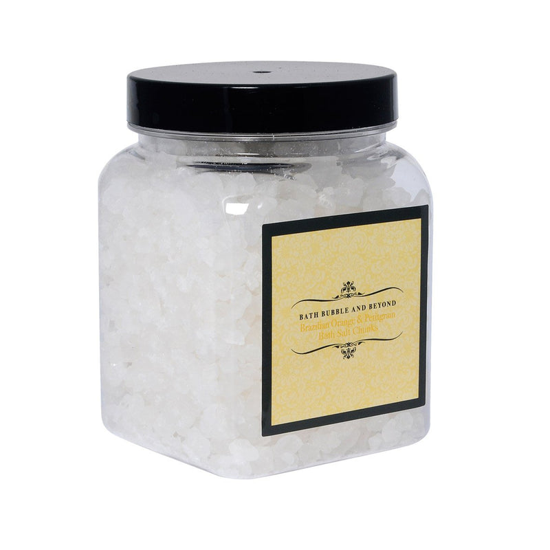 Brazilian Orange & Petigrain Luxury Bath Salt Chunks-Perfect Pamper Gifts