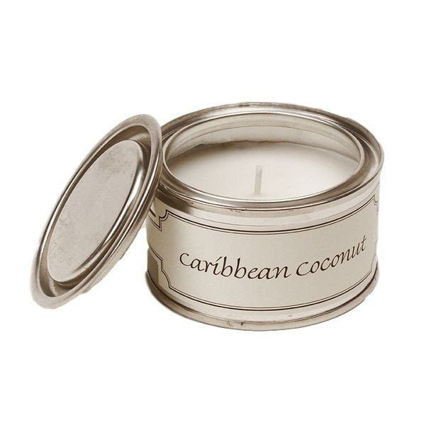 Caribbean Coconut Scented Candle-Perfect Pamper Gifts