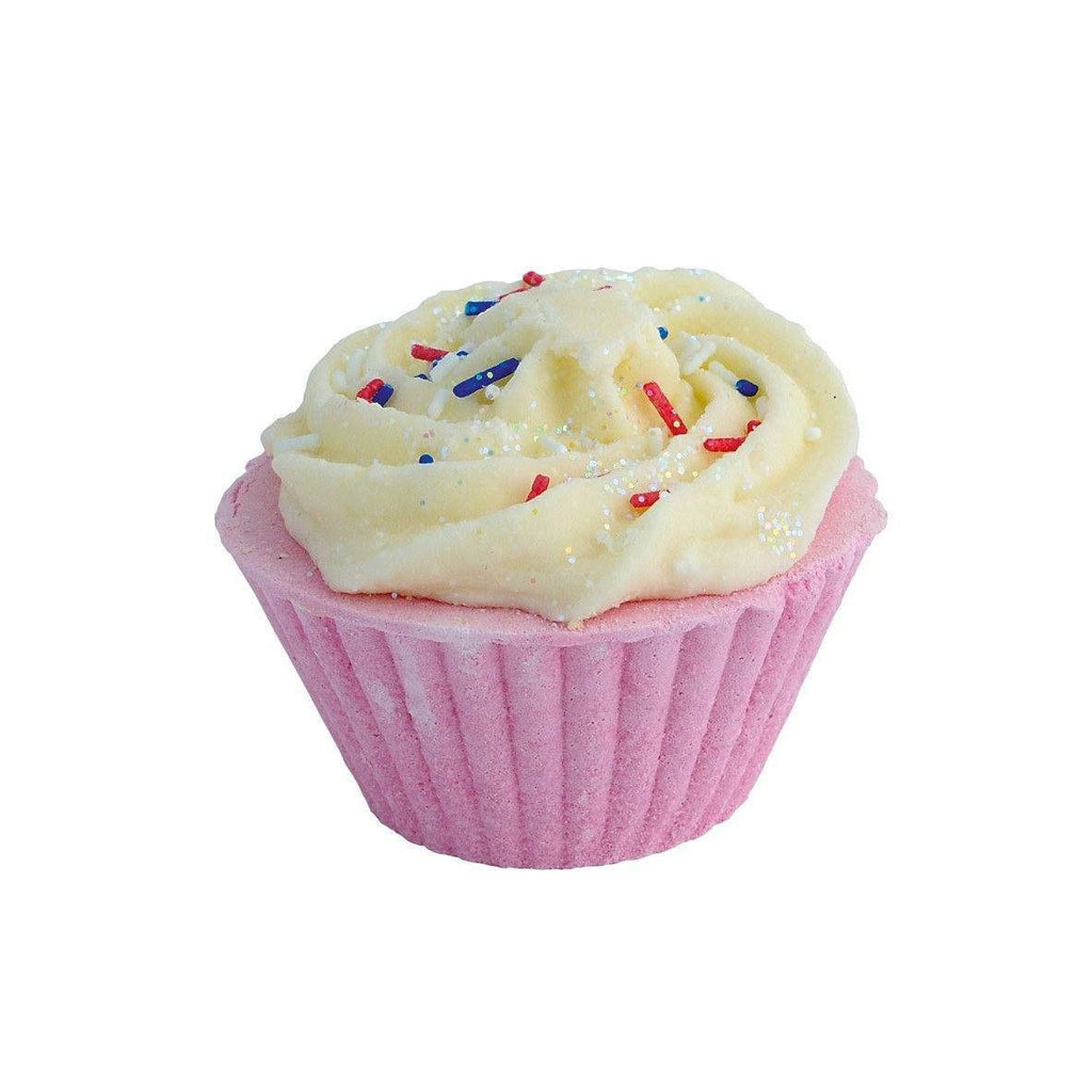 Cherry Bakewell Cupcake Bath Bomb-Perfect Pamper Gifts